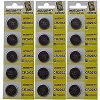 15MBCR2032 MotoBatt リチウム 3V バッテリー サイズ CR2032 リテールパック 5個パック