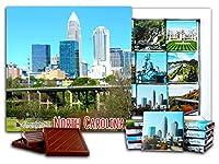 """DA CHOCOLATE キャンディ スーベニア """"ノースカロライナ州"""" NORTH CAROLINA チョコレートセット 5×5一箱 (City)"""
