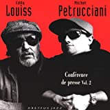 Conference de Presse, Vol. 2 [Import CD from France] [CD, Import, From UK] / Louiss, Petrucciani (CD - 1995)