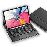 2019 iPad 10.2タッチパッド付きワイヤレスBluetoothキーボード、iPad 10.2キーボードカバーケース