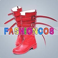 ★サイズ選択可★男性26.5CM UB068 ワンピース ONE PIECE ペローナ コスプレ靴 ブーツ
