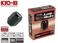 [KYO-EI]ホイール用ラグナット 袋ナットセット_M12×P1.5_21HEX_16個(ブラック)【101SB-16P】
