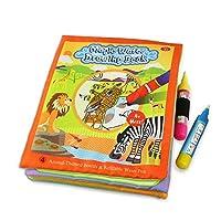 Coolplay 動物のテーマボードと詰め替え可能なウォーターペン、ベビーギフトのための水彩画 動物