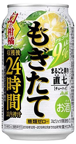 アサヒ もぎたて まるごと搾り 直七 350ml缶 350ML × 24缶