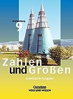 Zahlen und Groessen 9. Schuelerbuch. Erweiterte Ausgabe. Sekundarstufe 1. Brandenburg. (Lernmaterialien)