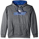 Champion Mens NCAA Champion Men's Take Off Pullover Hood with Applique CBMVE0MAMZ-2, Mens, NCAA Champion Men's Take Off Pullover Hood with Applique, CBMVE0MAMZ-2, Anthracite, Large