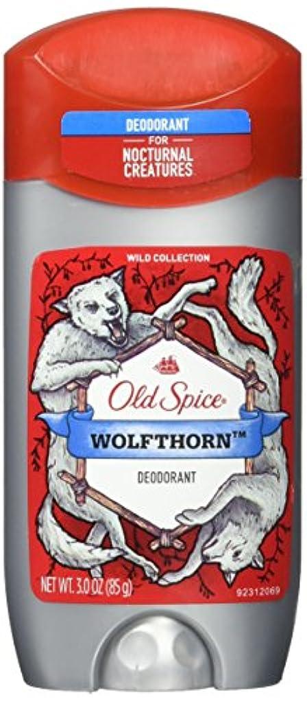 もろい朝ロッドOld Spice (2パック)ワイルドコレクション - Wolfthorn香り - メンズデオドラント - 3オズ