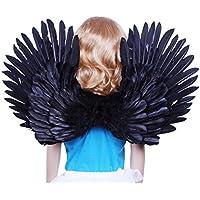 [ファッションウイング]FashionWings Children's Black Costume Feather Angel Wings Point up or Down 428MB [並行輸入品]