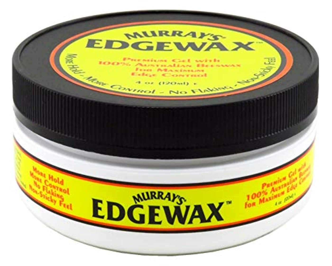 ビジョン発生器頭蓋骨Murrays マレー'S Edgewax 100%オーストラリア蜜蝋、3パック