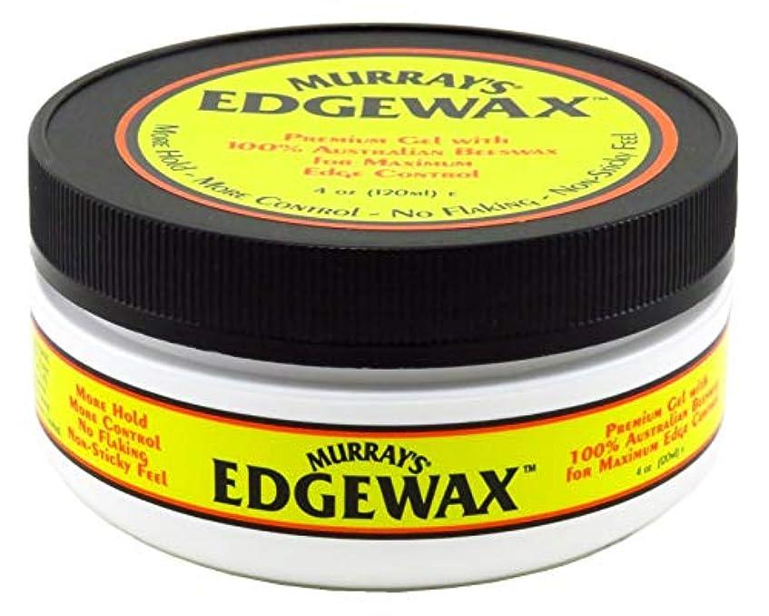 めまい耕す女王Murrays マレー'S Edgewax 100%オーストラリア蜜蝋、3パック