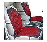 MYPERシートヒーター ホットカーシート 電気シート 助手席 運転席 2枚組 スイッチ式 12V車 専用 (グレー)