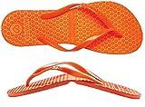 SALVATOS (サルバトス) 折りたたみ サンダル FLIP-FLOP ORANGE S(23.0-23.5cm) フリップフロップ