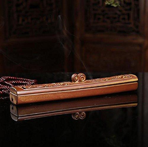 [해외]향로 세라믹 향로 향도 자기 향 접시 다도 용품 공부 용품 사무실 용품 가로 향로 불단 향도 불구 애완 동물 불구 향 수납 가능 요가 룸 부모님 선물 교사를위한 선물/Incense incense stand Ceramic incense burner incense incense incense dish T...