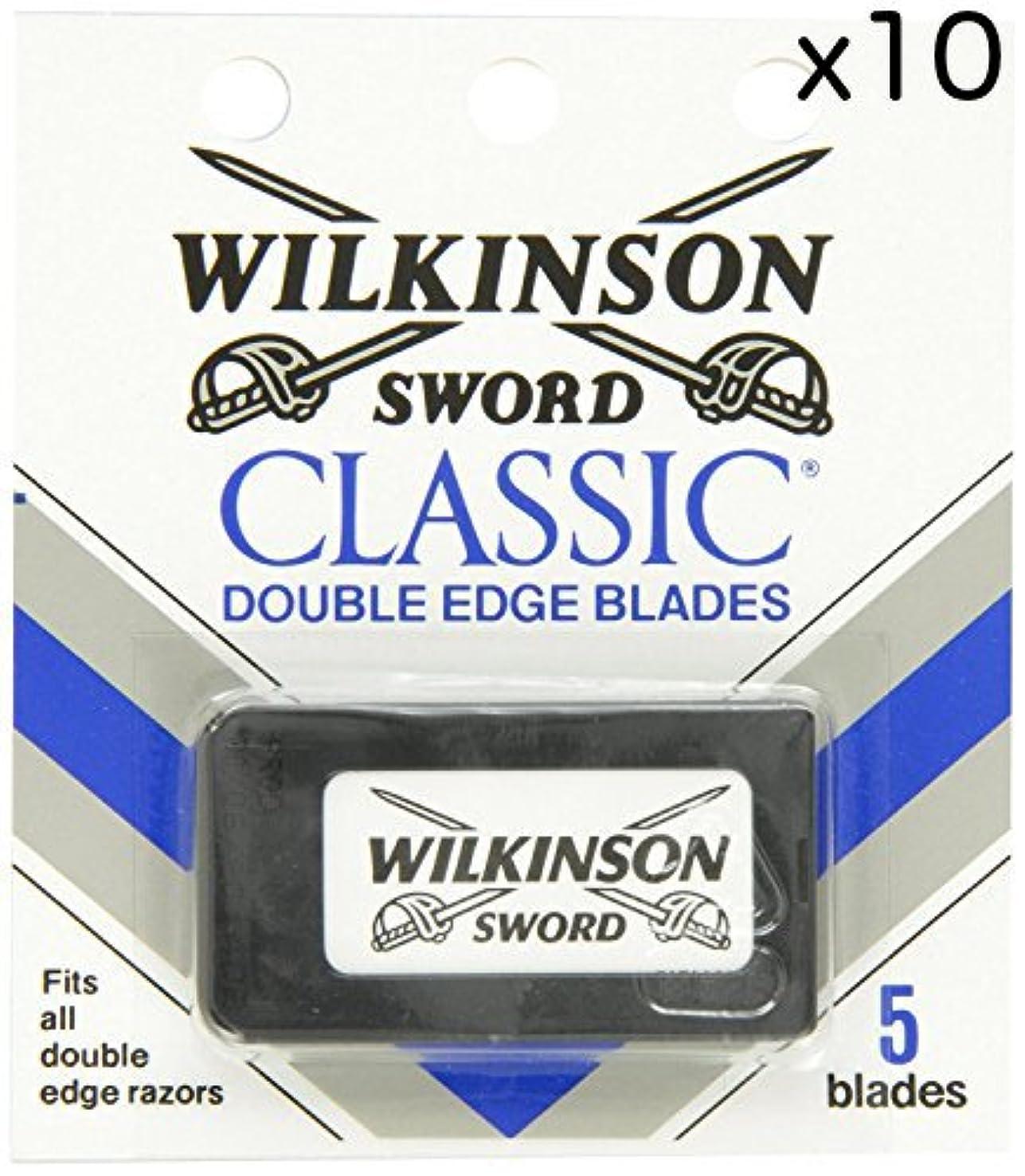 親愛な悲劇内訳Wilkinson Sword ウィルキンソンソード 両刃替刃 50個入り (5 x 10) [並行輸入品]