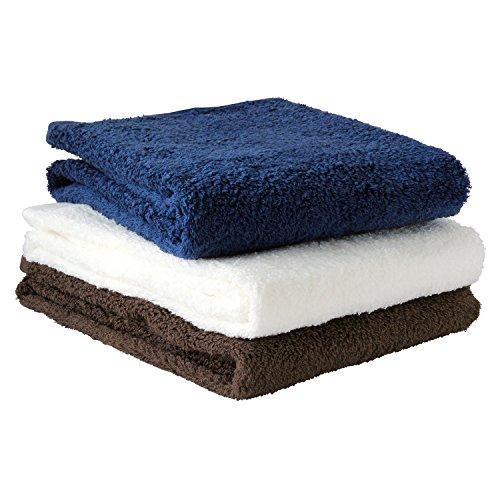 [해외]hiorie (히오리에) 일본 제 고급 호텔 스타일 수건 멋져 미니 타올 3 장 세트 순간 흡수 빅 페이스 타올/hiorie (Hiolier) Made in Japan Luxury Hotel Style Towel Classic Minibus Towel 3 pieces Set Instant Water Absorption Big Face Towel