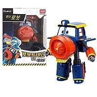 ロボットトレインズ シーズン2 韓国アニメ変形ロボットキャラクター ビクター 4インチアクションフィギュアおもちゃ 対象年齢3歳以上