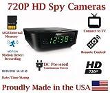 720p Alarm Clock Radio HD Spy Camera Covert Hidden Nanny Camera Spy Gadget with 32GB Micro SD Card [並行輸入品]