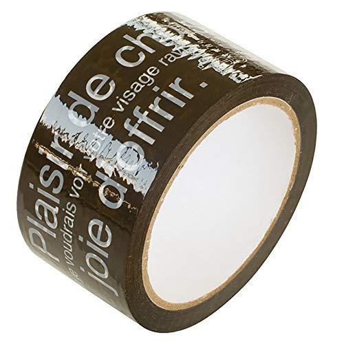 ヘッズ カフェオレパッキングテープ-1 CAF-PL1 1セット 21巻:1巻×21パック
