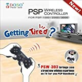 DOSO PSW-303 / PROワイヤレスコントローラー / コントローラアダプタ for PSP1000/2000/3000 [CXD8647] [並行輸入品] (¥ 5,980)