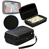 Navitech Black GPS/Satellite Navigation Hard Carry Case Cover for The Tomtom GO Professional 620