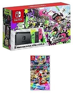 Nintendo Switch スプラトゥーン2セット+マリオカート8 デラックス[オンラインコード:ソフトはメールで配信]