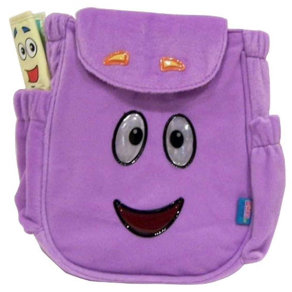 湿原自発トランスペアレントPlush Backpack - Dora the Explorer - Mr.Face Rescue Bag New Soft Toys 235795