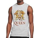 Queen タンクトップ メンズ Tシャツ ノースリーブ スポーツ トレーニングウェア インナーシャツ 吸汗 速乾 大きなサイズ