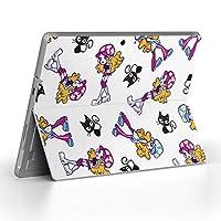 Surface go 専用スキンシール サーフェス go ノートブック ノートパソコン カバー ケース フィルム ステッカー アクセサリー 保護 人物 キャラクター 猫 009522