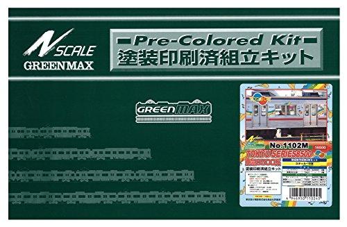 Nゲージ 1102M 東急8500系 TOQ-BOX増結中間6輛 (塗装済車両キット)