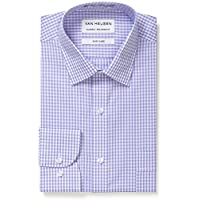 Van Heusen Men's Classic Relaxed Fit Gingham Shirt