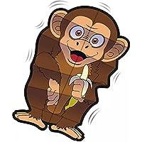 wigglekite Monkey Kite – 31インチナイロンモーションKite
