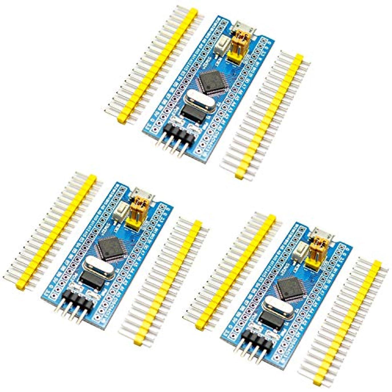 持っている息苦しい上げるRasbee 3個 STM32F103C8T6 最小 システム 開発ボードモジュール 国内配送 ARM STM32 Minimum Arduinoと互換 システム 開発 コア 学習ボード Smart 40ピン DIY STM32F103 Miniシステムボード