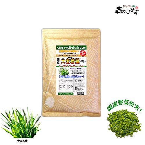 森のこかげ 国産 野菜 粉末 大麦若葉 オオムギワカバ 500g 野菜パウダー S