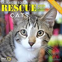Rescue Cats Wall Calendar 2020