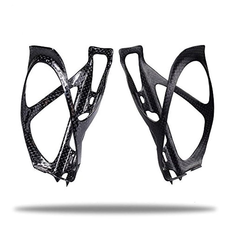 講堂滅多わずらわしいEC90 2018 新デザイン 3K サイクリング カーボンファイバー 自転車 ボトルケージ 自転車ケージ ウォーターボトルホルダー