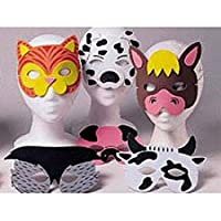 [スモールトイズ]SmallToys 12 Farm Animal Foam Masks by 409994 [並行輸入品]