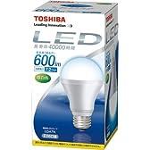 東芝 E-CORE LED電球 E26口金 昼白色 600lm LDA7N