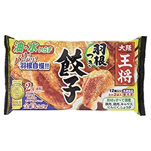 [冷凍] 大阪王将 羽根つき餃子 314g