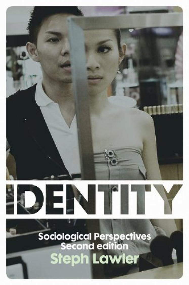 カバー解決するお金Identity: Sociological Perspectives (English Edition)