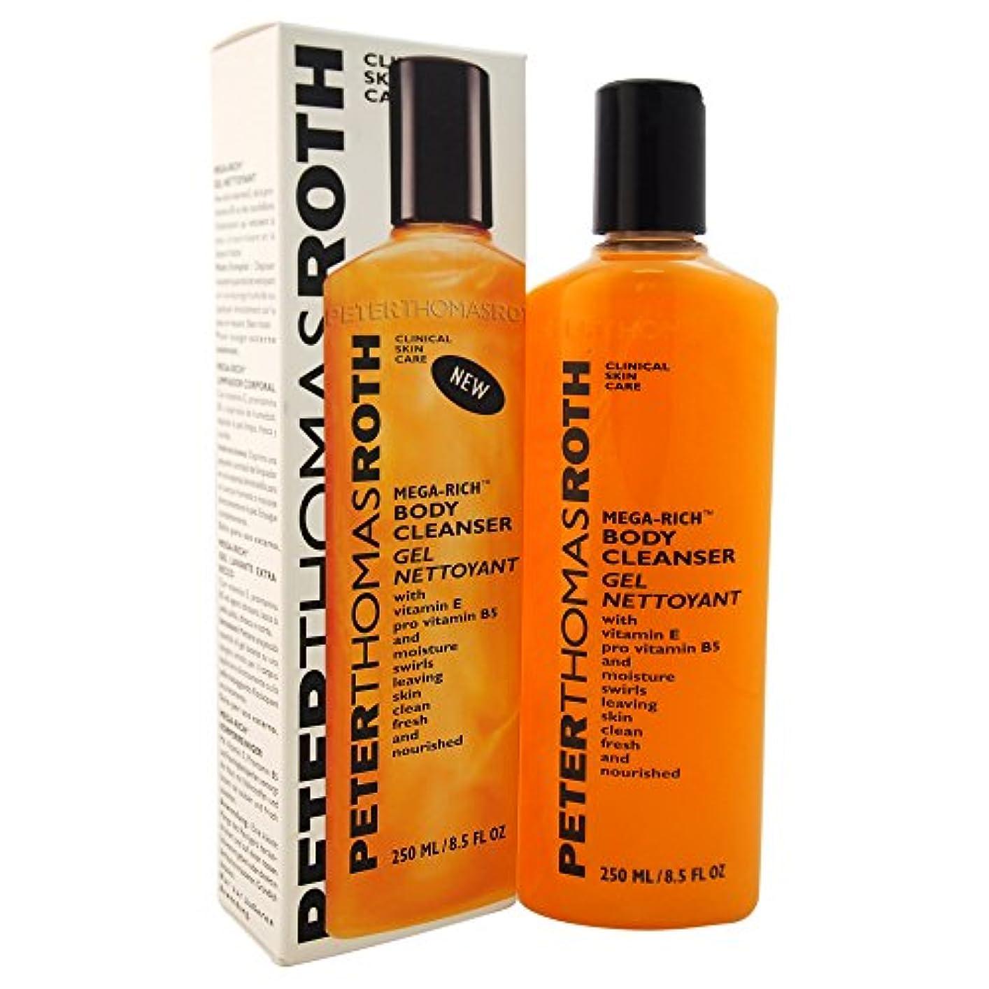 短くする低下穀物Peter Thomas Roth Mega-Rich Body Cleanser Gel (並行輸入品) [並行輸入品]