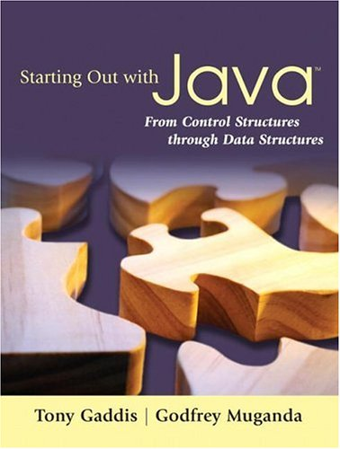Download Starting Out with Java: From Control Structures through Data Structures 0321421027
