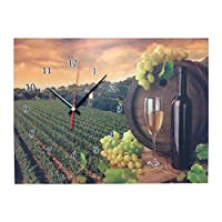 Creative Motion Clock Frame with Winery Design [並行輸入品]