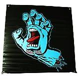 (サンタクルーズ)SANTA CRUZ バナー 壁掛け 大判フラッグ Jim Phillips ジム・フィリップス Screaming Hand Color Banner 91×91cm