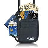 (リベルタ)LIBERTA パスポートケース 貴重品入れ ネックポーチ 首かけ 旅行用
