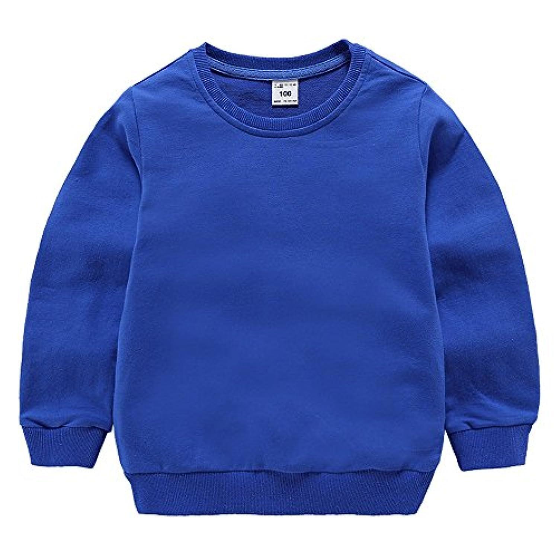 「Bidear」子供服 女の子 男の子 Tシャツ トレーナー キッズ ベビー 丸くび 薄手 春夏秋 100%綿製品 7色 90~140cm