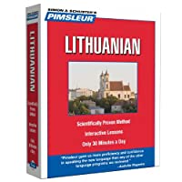 Pimsleur Lithuanian Level 1 CD: Learn to Speak and Understand Lithuanian with Pimsleur Language Programs (1) (Compact)