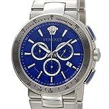 VERSACE ヴェルサーチ メンズ 腕時計 VFG120015 ミスティック スポーツ クロノグラフ ブルー [並行輸入品]