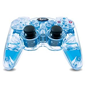 Lava Glow Wireless Controller with Rumble(Blue)