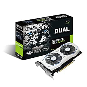 ASUS NVIDIA GeForce GTX1050Ti搭載ビデオカード オーバークロック メモリ4GB DUAL-GTX1050TI-4G