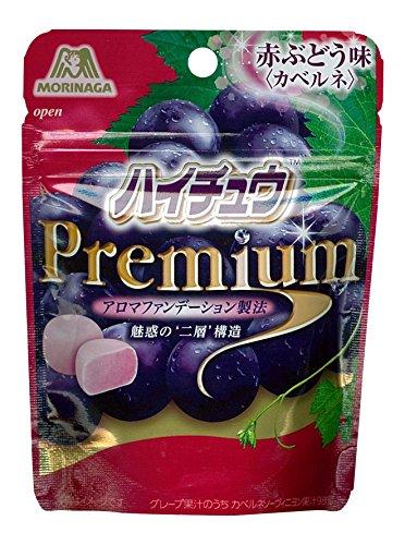 森永製菓 ハイチュウプレミアム<赤ぶどう味> 35g×10本